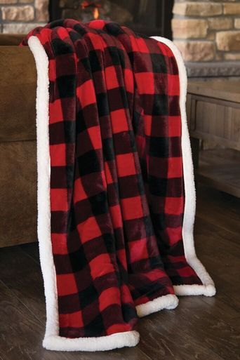 Browse Our Collection Of Cabin Bedding Rustic Decor Handcrafted Furniture And More Fill Your Home Wit Plaid Bedding Plaid Throw Blanket Plush Throw Blankets