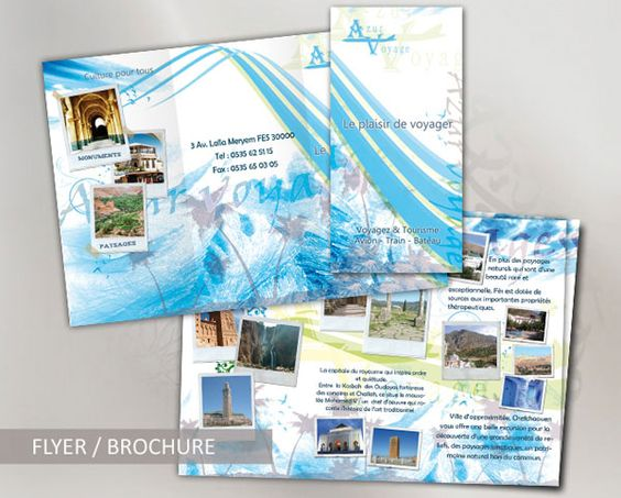 Great Travel Brochure Templates  Graphic Design