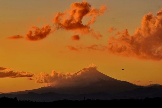 ☆ Mt.Fuji last sunset in 2012 -Ⅱ