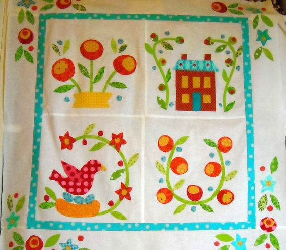 Lovely little quilt made by 44th Street Fabric