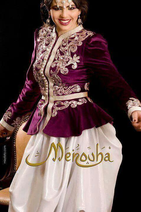 Veste Traditionnelle, Traditionnel AlgéRien, Traditionnel Clothing, Sarouel Karakou, Karakou Veste, With Sarouel, Velours, Pour Tenues,