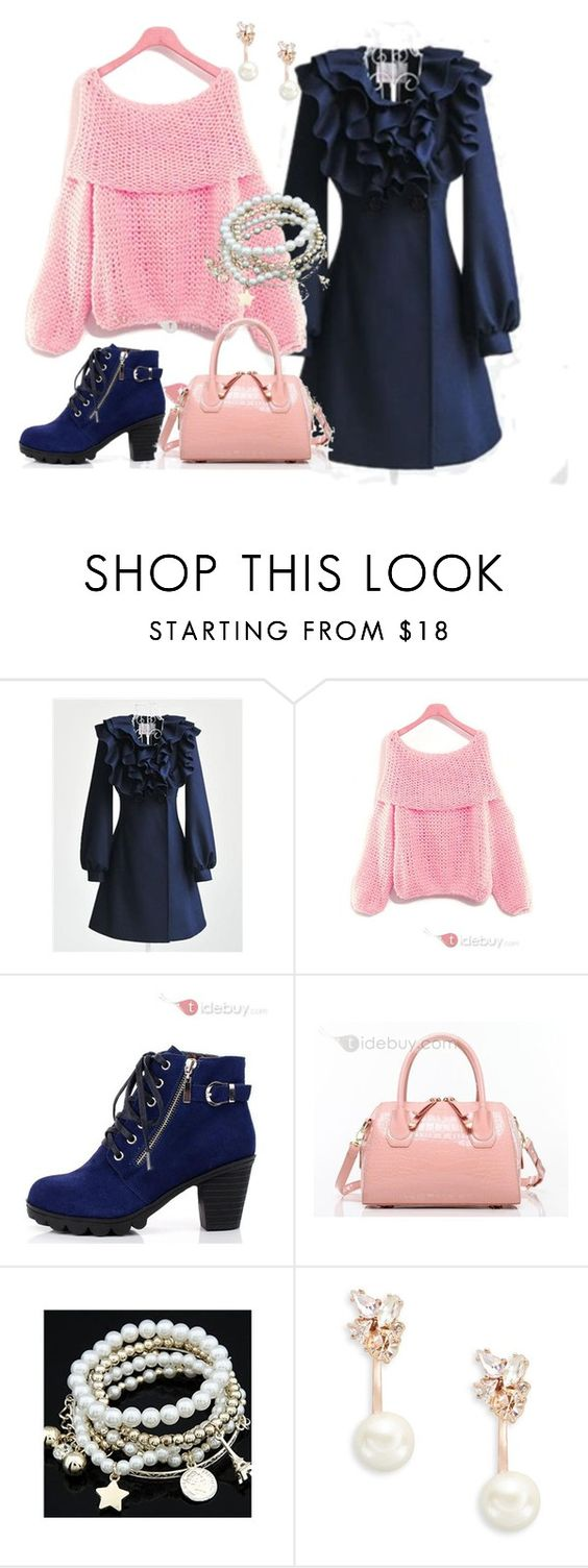 """""""Keep sweet even in cold weather!"""" by tidebuy ❤ liked on Polyvore featuring Kate Spade"""