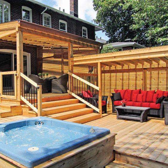 Voisins de palier sur le patio patio inspirations jardinage et ext rieu - Idee patio exterieur ...