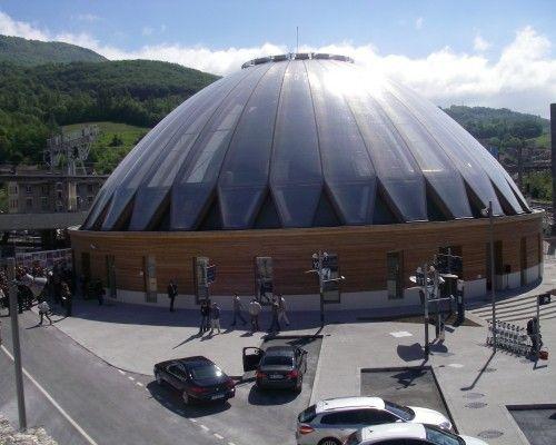 Gare - Bellegarde-sur-Valserine - Prix national de la construction bois - Panorama - Pôle d'échange multimodale