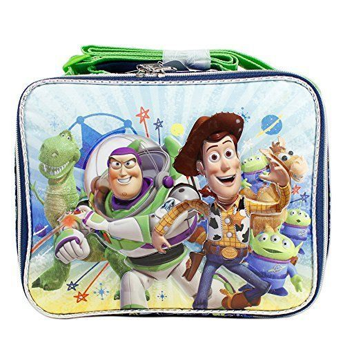Pixar Toy Story Insulated School Snack Lunch Bag for Boys #ToyStory #LunchBag
