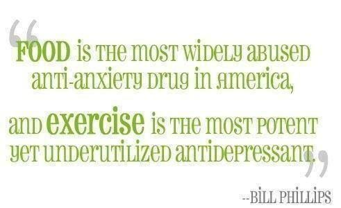 """""""Food is the most widely abused anti-anxiety drug in America."""""""