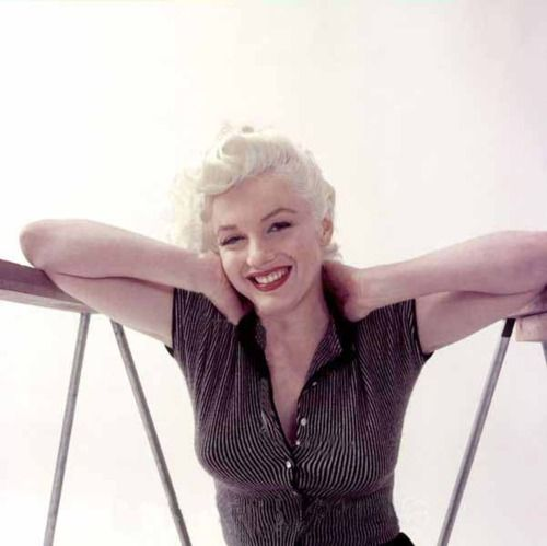 Marilyn Monroe by Milton Greene ~ 1955