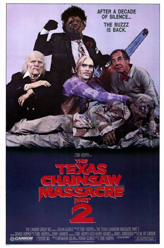 THE TEXAS CHAINSAW MASSACRE 2 (1986) The best one ever!!!!