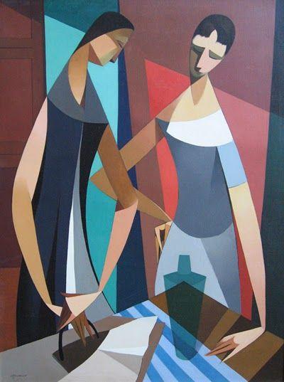 Armando Barrios   Cubist /Abstract painter   Tutt'Art@   Pittura * Scultura * Poesia * Musica  