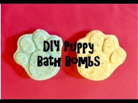 Diy Puppy Dog Bath Bombs How To Make Dog Bath Bombs Puppy Fizzies