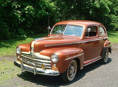 Sedans ford and doors on pinterest for 1947 ford 2 door