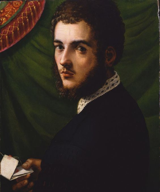 portrait of a young man by Michele Tosini (1503–1577) Florence