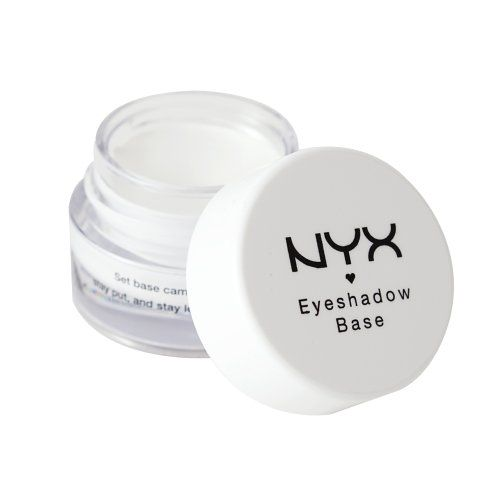 NYX Cosmetics Eye Shadow Base, White, 0.25 Ounce $7.00 makeup