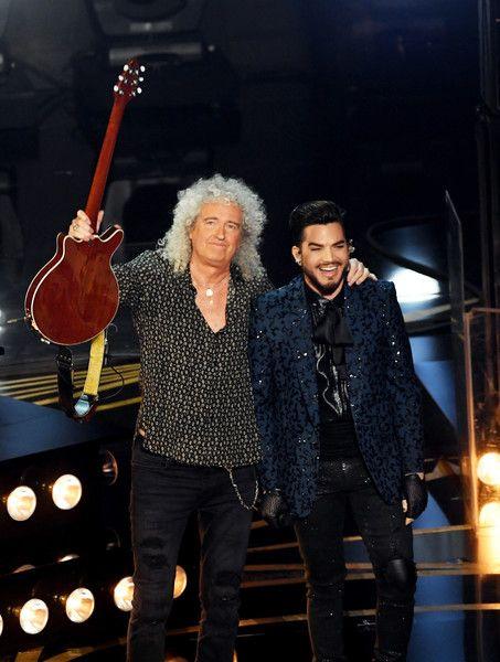 Adam Lambert Photos Photos 91st Annual Academy Awards Show Queen With Adam Lambert Adam Lambert Onstage