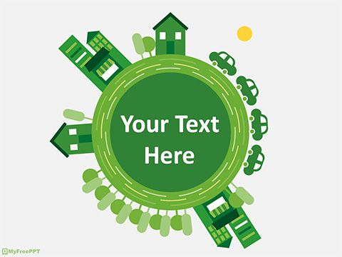 Free Green Earth Powerpoint Template Powerpoint Templates Powerpoint Powerpoint Template Free