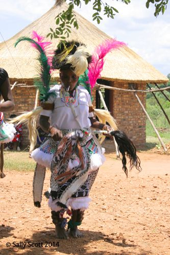 A Tsonga healer dances up a storm
