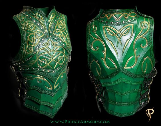 Green Elven Knight Cuirass by =Azmal on deviantART: