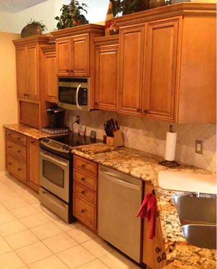 Kitchen Cabinets Dealers: Kitchen Remodel In Jensen Beach, FL. Designed By Carol