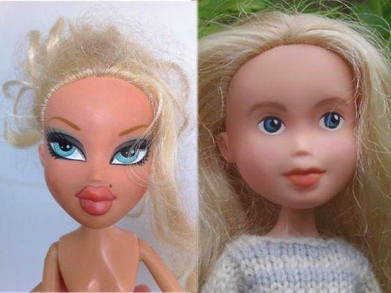 Las muñecas son muy engañosas, hay muchas cosas que las empresas de juguetes hacen para vender, que nos confunden bastante.