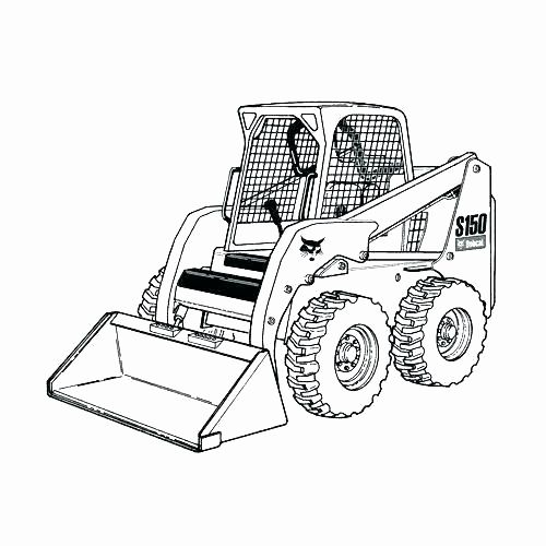 Dump Truck Color Page Awesome Snow Plow Coloring Page