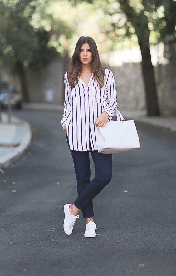 Looks com tênis branco e modelos para você comprar