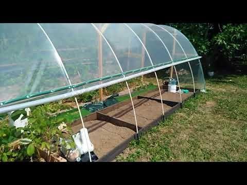 Idea De Invernadero Casero Serre Fait Maison Diy Greenhouse Youtube Invernadero Casero Invernadero Jardinería De Invernadero
