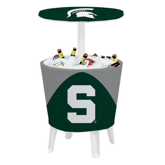 Event Cooler Table - Michigan State Spartans - 810024MSU-001