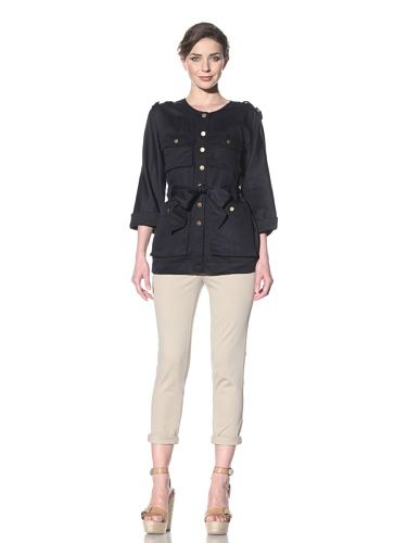 69% OFF French Connection Women's London Linen Jacket (Utility Blue) (a favourite repin of VIP Fashion Australia www.vipfashionaustralia.com - Specialising in unique fashion, exclusive fashion, online shopping sites for clothes, online shopping of clothes, international clothing store, international clothes shop, cute dresses for cheap, trendy clothing stores, luxury purses )