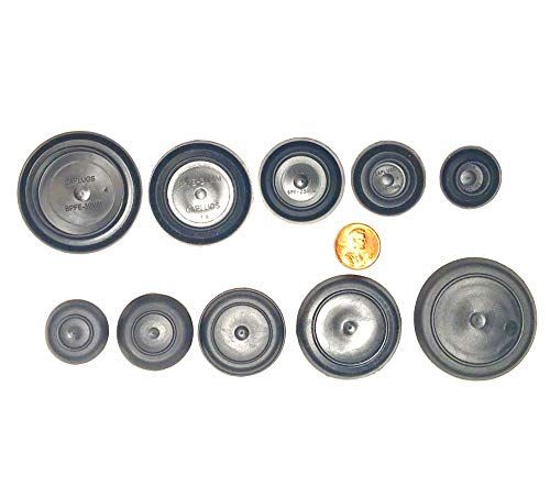 5 Piece Black Rubber Plugs Bpfe Series By Caplugs For Flush Mount Body And Sheet Metal Holes 5 8 Black Rubber Sheet Metal Metal