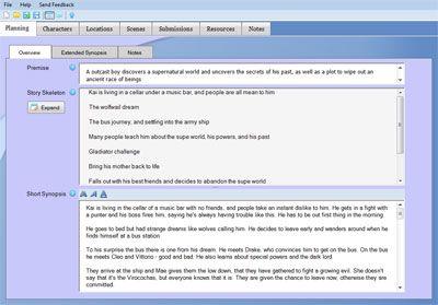 Steps in writing a novel