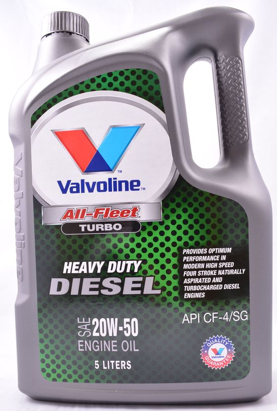 Valvoline All Fleet Turbo 20w50 Mineral Diesel Engine Oil