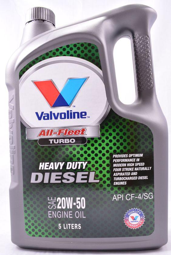 Valvoline All Fleet Turbo 20w50 Mineral Diesel Engine Oil