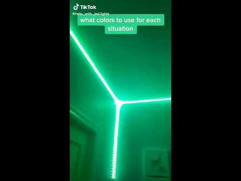 What Colors To Use For Each Situation With Led Lights Youtube In 2021 Led Lighting Diy Led Lights Led Room Lighting