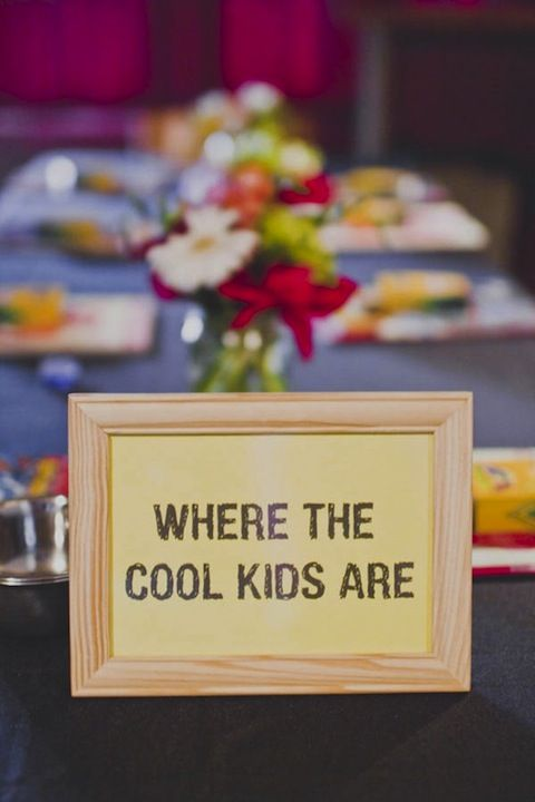 Kids Tables… FUN! on itsabrideslife.com/Wedding Kids Table/Kids at Wedding/Kiddie Table Ideas: