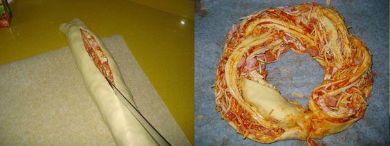 Estonian Kringle Pizza
