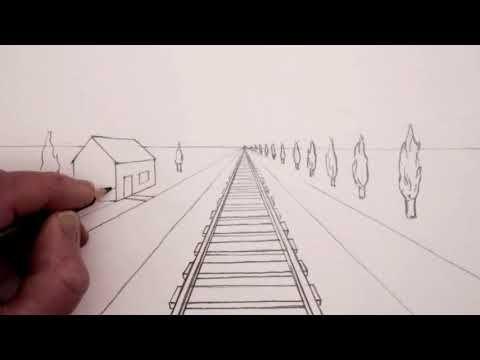 رسم المكعب بتقنية المنظور 1 Youtube Youtube Triangle Tattoo Vanishing Point