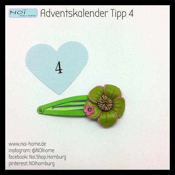 #Adventskalender #Tipp 4 Ja, wir lieben #Hairpins :). Schick bunt und blumig. Perfekt gegen graue Tage. #NOIhamburg #Schanze #Schmuck #girls