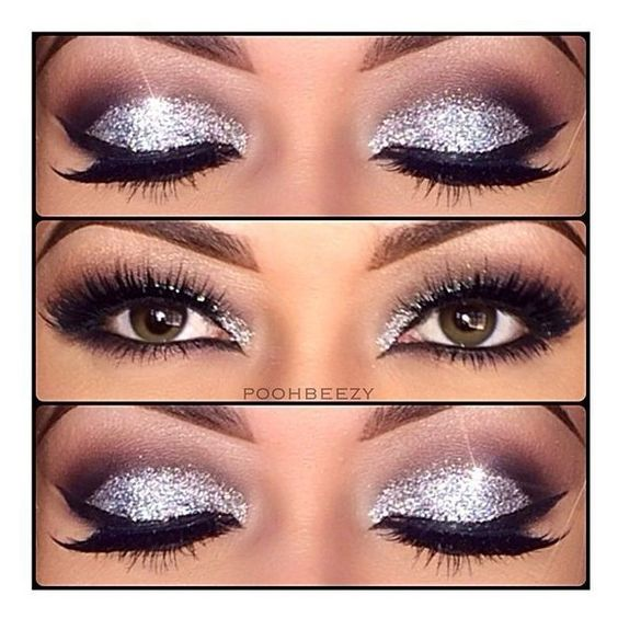 Top 10 Amazing Black Eye Makeup Tutorials ❤ liked on Polyvore featuring beauty products