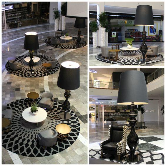 Westfield Garden State | Floor Lamps | Yellow Goat Design