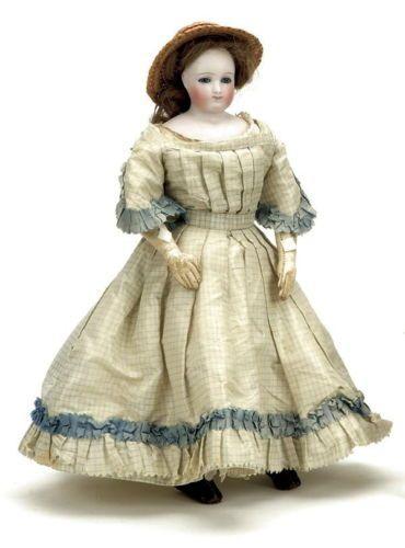 "French 12"" RARE Barrois Fashion Lady E 1 Depose B from Mary Merritt Doll Museum | eBay"