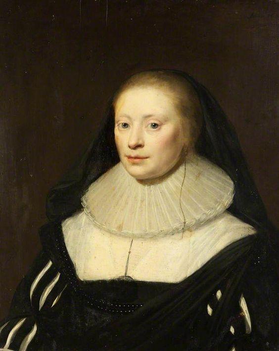 The Athenaeum - Portrait of an Unknown Lady (Cornelis Janssens van Ceulen - ):