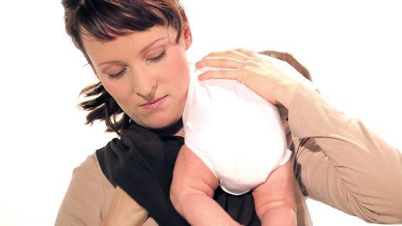 Instructions Ergobaby Wrap - Basic tie for a newborn (3 - 5 kg)