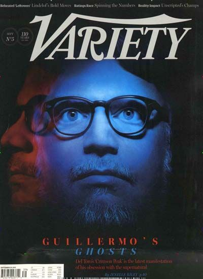 Guillermo's ghosts. Gefunden in: VARIETY, Nr. 39/2015