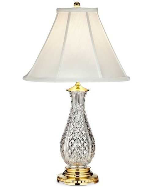 Waterford Renmore Accent Lamp 19 425 Shipping Is Free Hamptons Home Gallery Hamptonshomegallery Com Crystal Table Lamps Table Lamp Lamp