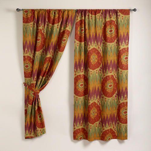 Spice Aravali Ikat Curtain