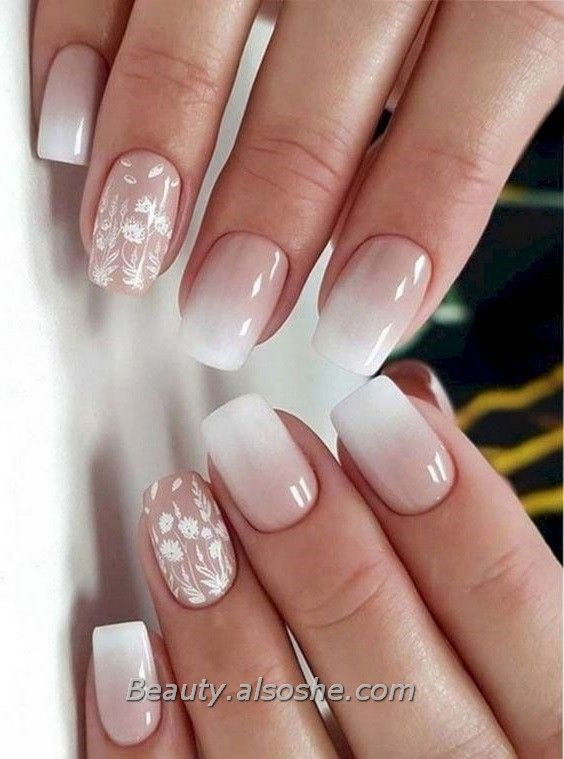 Gorgeous Wedding Nail Art Designs Ideas To Try Tomorrow Beauty Alsoshe In 2020 Nail Art Wedding Wedding Nail Art Design Simple Wedding Nails