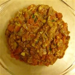 Spiced Eggplant Indian Style