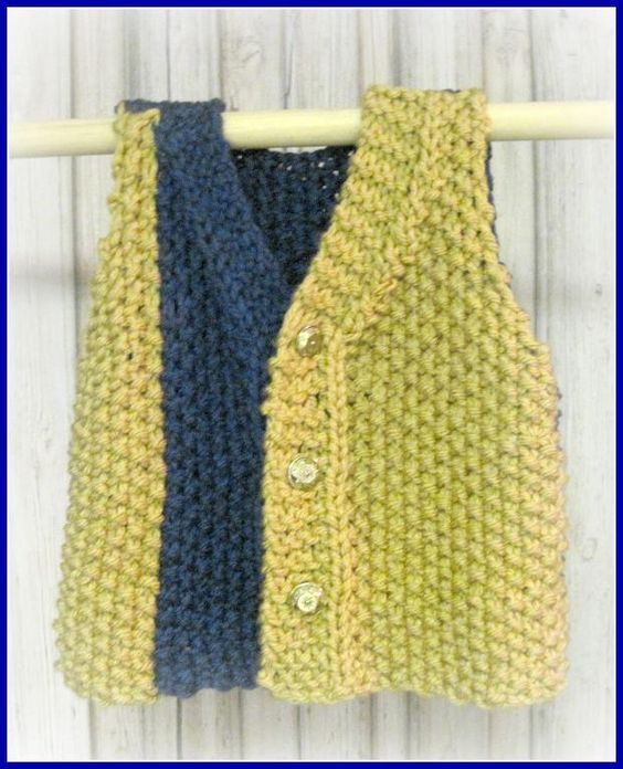 Looking for your next project? You're going to love School or Team Colors Vest by designer Laurel Arts.