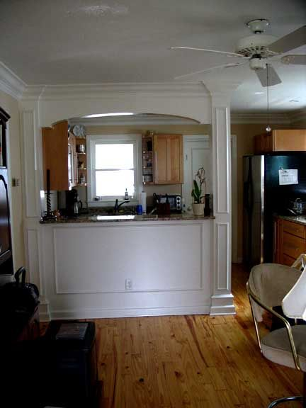 Galley kitchen with pass through photo page 4 eliptical arch kitchen pass through wall - Kitchen dining room pass through ...