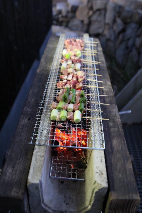 手作り焼き鳥台 バージョンアップ たんそくおやじのブログ Outdoor